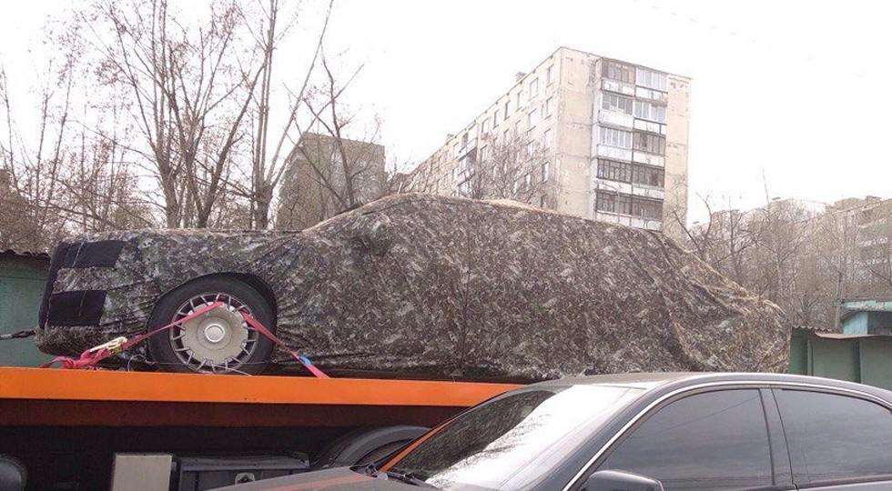 Лимузин проекта «Кортеж» поймали в Москве