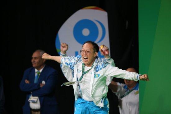 В Сети появилось видео ликующего Алексея Ни после победы его подопечных на Олимпиаде