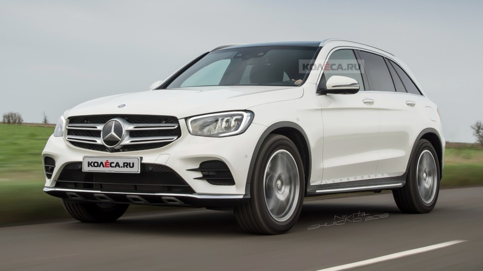 Обновлённый Mercedes-Benz GLC: первые изображения