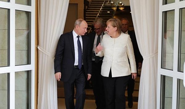 Лавров: Путин иМеркель никогда нетеряли способности вести диалог открыто&nbsp