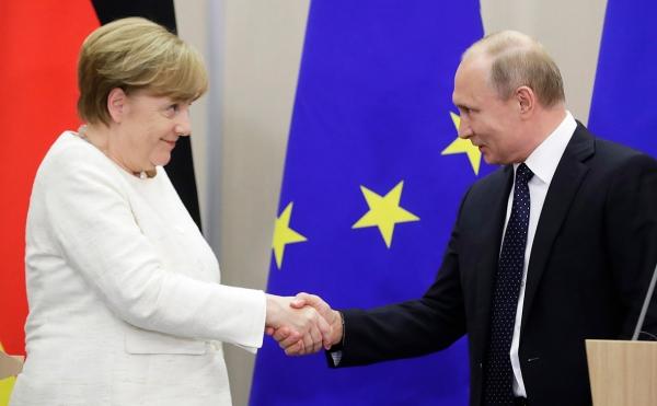 Иран, Сирия, «Минск»: как прошла встреча Путина и Меркель