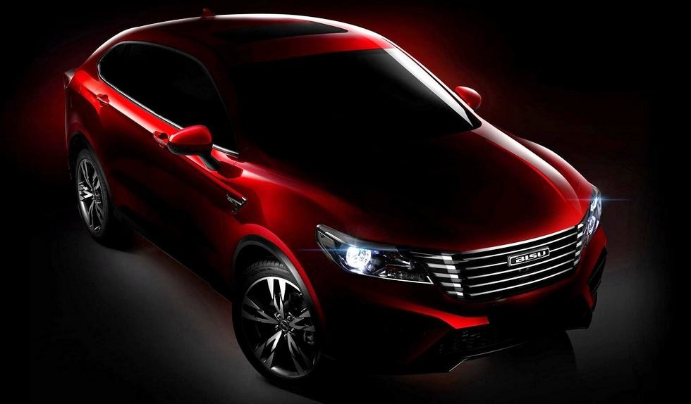 Новое кросс-купе из Китая: официальные изображения