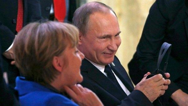 Bild заметил всловах Путина угрозу вадрес Евросоюза&nbsp
