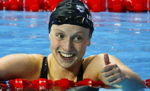 Американка Ледеки установила мировой рекорд вплавании на1500 мкролем натурнире вСША&nbsp