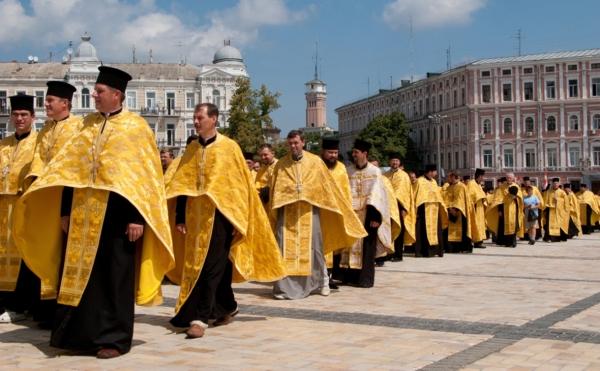 Украинская церковь обвинила Россию во вмешательстве в ее «церковные дела»
