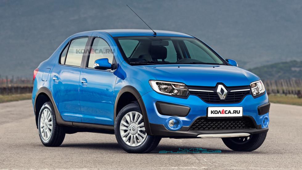 Кросс-седан Renault Logan: первые изображения