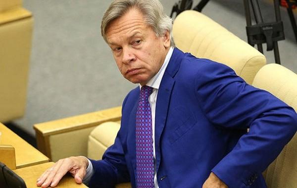 Пушков отреагировал наслова Туска оботношении Трампа кУкраине&nbsp