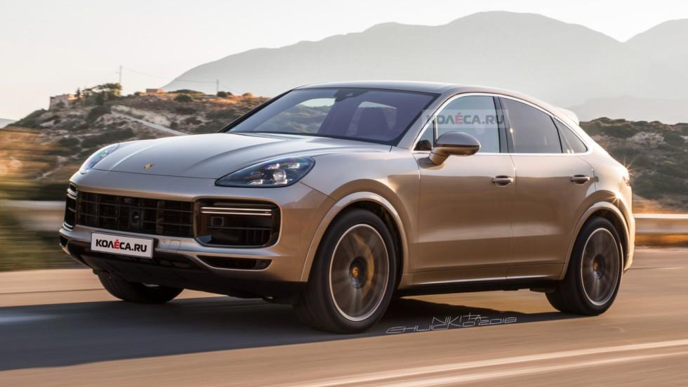 Porsche Cayenne купе: новые изображения