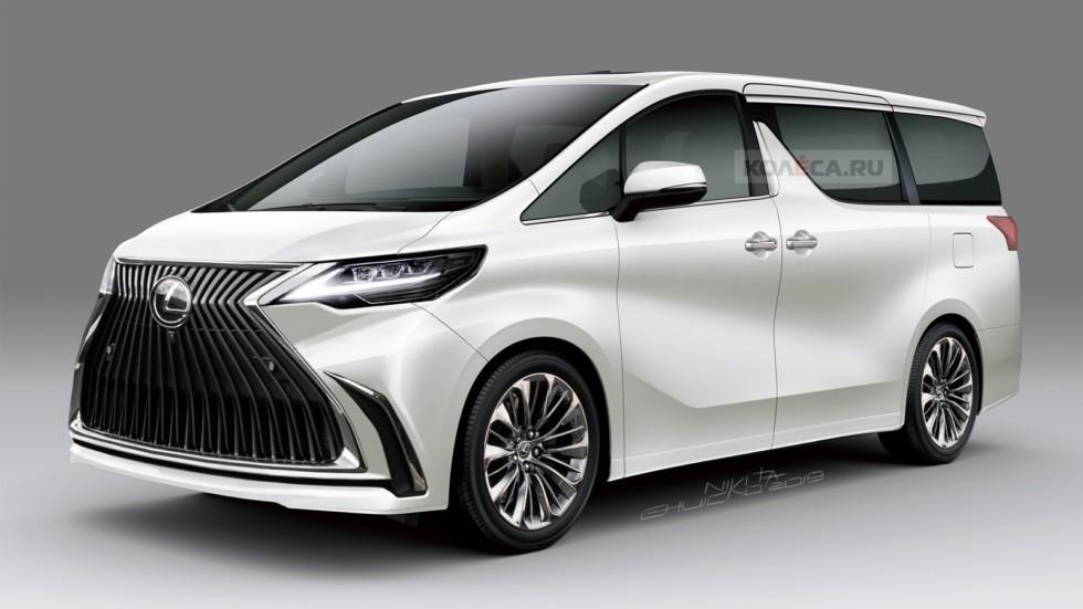 Минивэн Lexus: первые изображения
