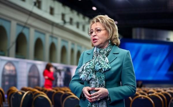 Матвиенко назвала полным безобразием низкое освоение денег на нацпроекты