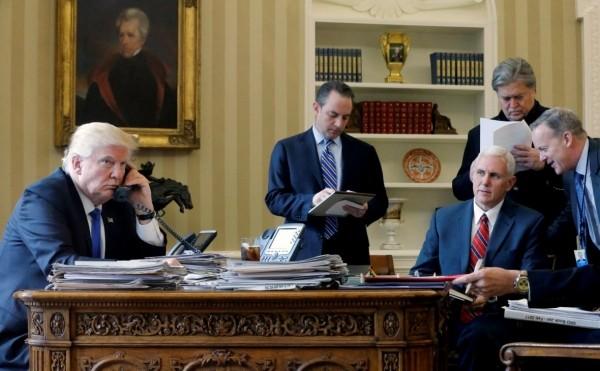 WP узнала о «раболепии» Трампа перед Путиным во время первого разговора