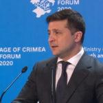 Зеленский: Крым не будет «разменной монетой» в вопросе завершения войны на Донбассе