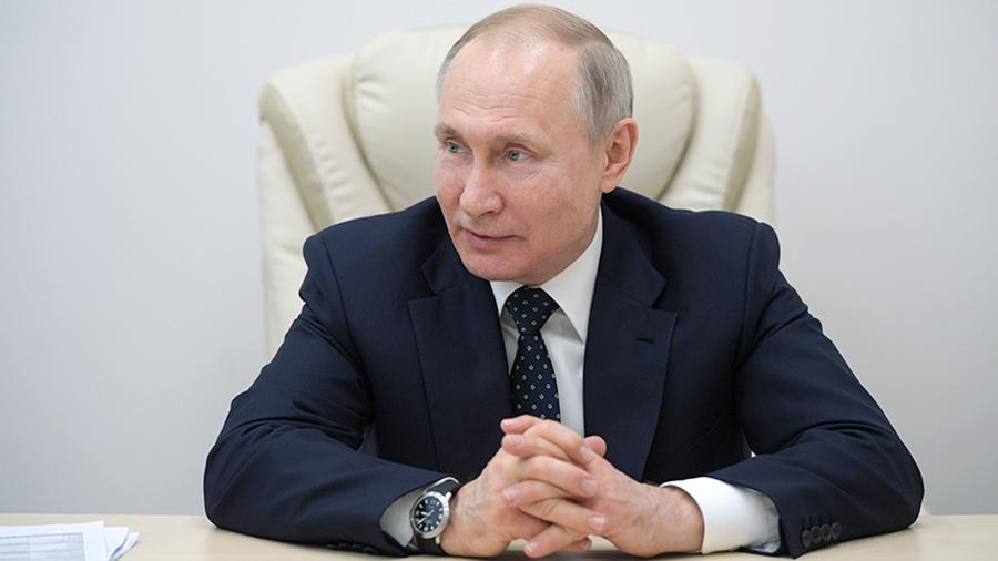 Путин выступит с обращением в связи с коронавирусом