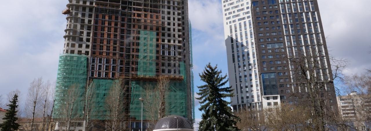 Завершены монолитные работы в ЖК Union Park