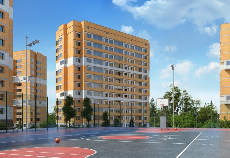 Жилой комплекс «Спортивный квартал» приближается к завершению строительства