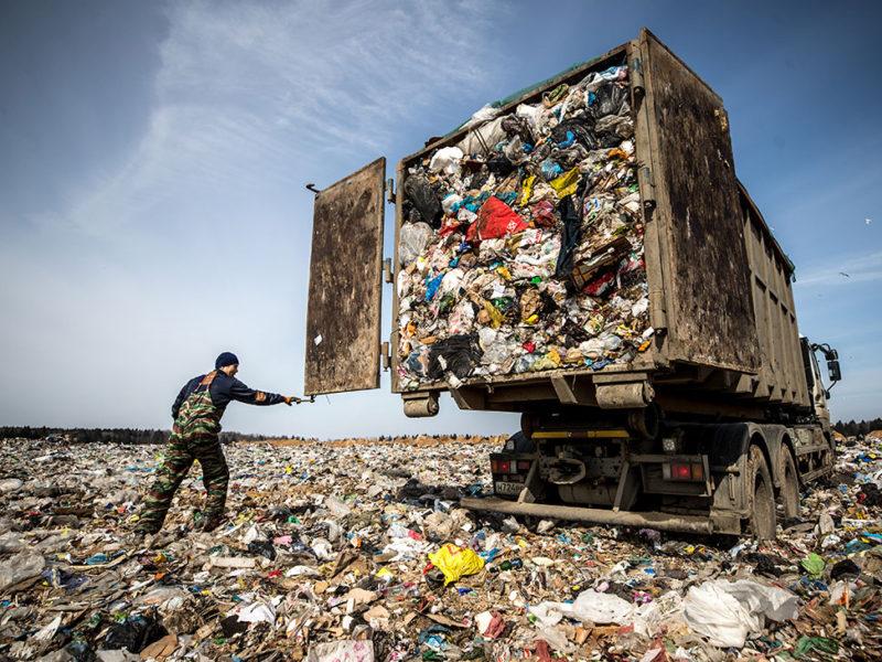 В России построят более 100 мусоросжигательных заводов и более 200 мусорных полигонов