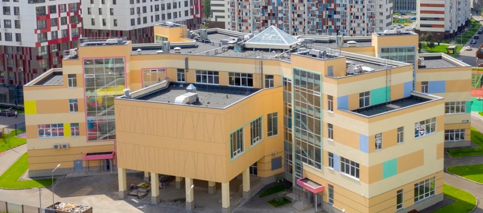 Школа в жилом комплексе «Ривер Парк» введена в эксплуатацию