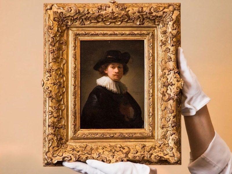 Автопортрет Рембрандта продали за рекордную цену!