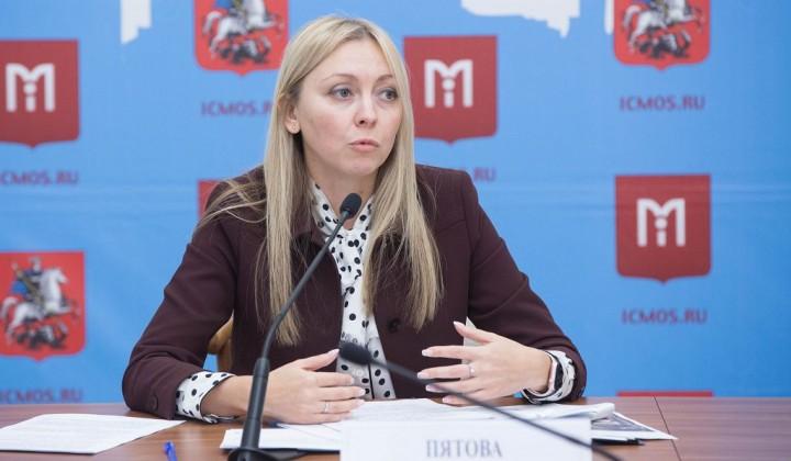 Анастасия Пятова: «площадь объектов, реализуемых через эскроу-счета, увеличилась на 33%»