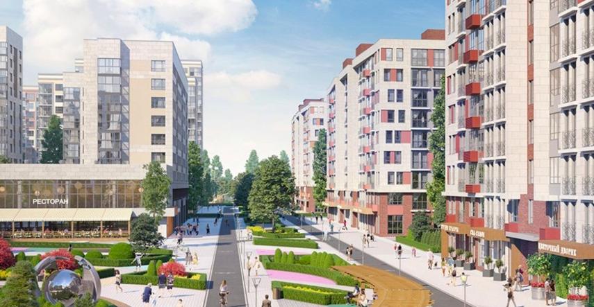 Первые дома второго района ЖК «Испанские кварталы» введены в эксплуатацию