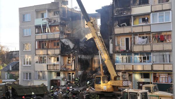 В Тюмени один человек пострадал при взрыве газа в пятиэтажке