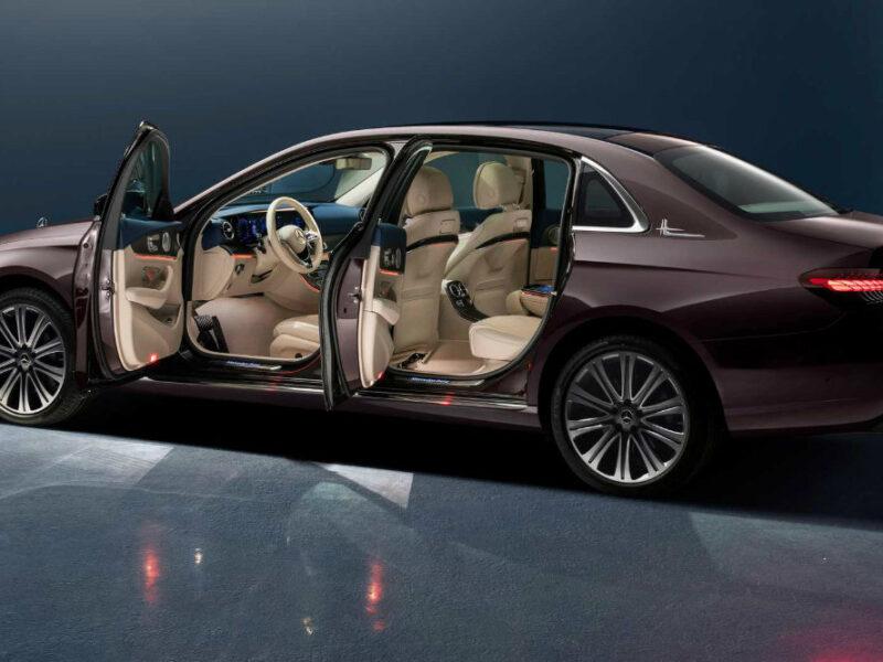 Вышел Mercedes-Benz E-Class, который роскошнее S-Class