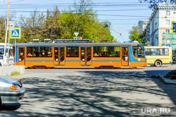 Екатеринбургский трамвай задымился на презентации в Саратове. Внутри находились губернатор и мэр