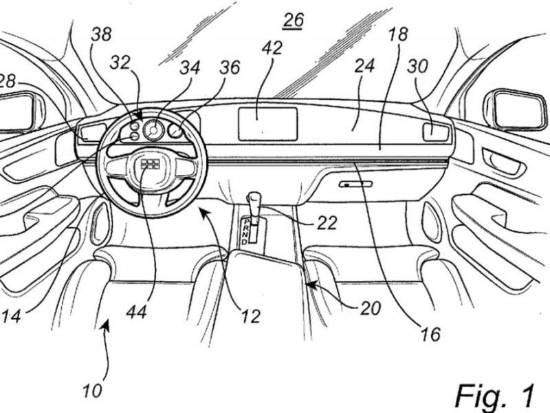 Volvo запатентовала салон, где руль перемещается между сиденьями