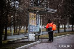 Жителей регионов привлекли к уборке московских улиц
