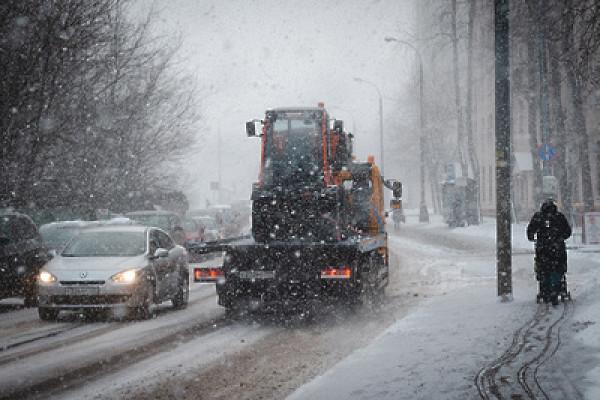 Переходящие вдожди снегопады ожидаются встолице напредстоящей неделе