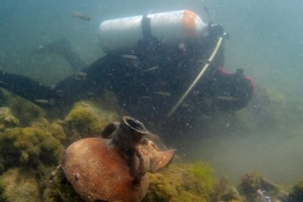 ВХерсонесе завершился археологический сезон подводных исследований
