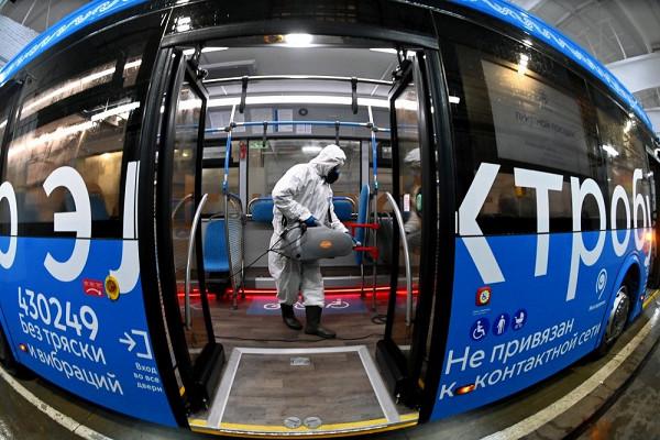 ВПетербурге протестируют новейший электробуса МАЗ