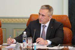 После приезда Путина губернатор Моор экстренно собрал совещание