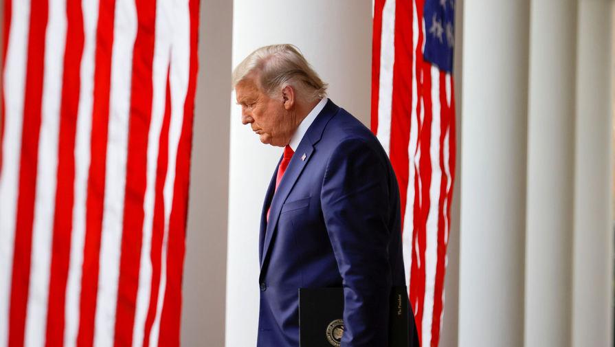 Психотерапевт: поражение на выборах нанесло Трампу психологическую травму
