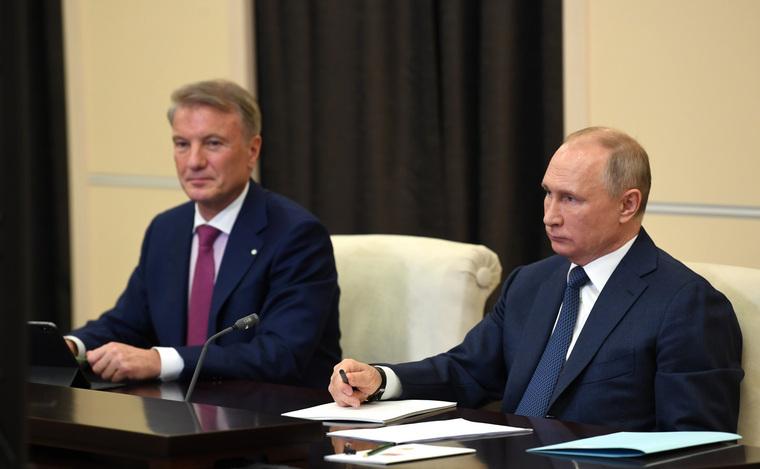 Путин пресек атаку наГрефа после отставки Чубайса