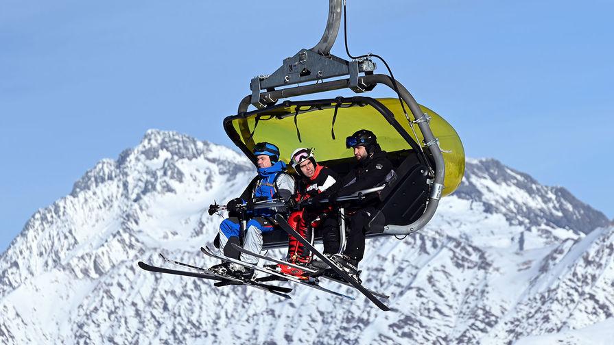 Россияне назвали любимые горнолыжные курорты внутри страны