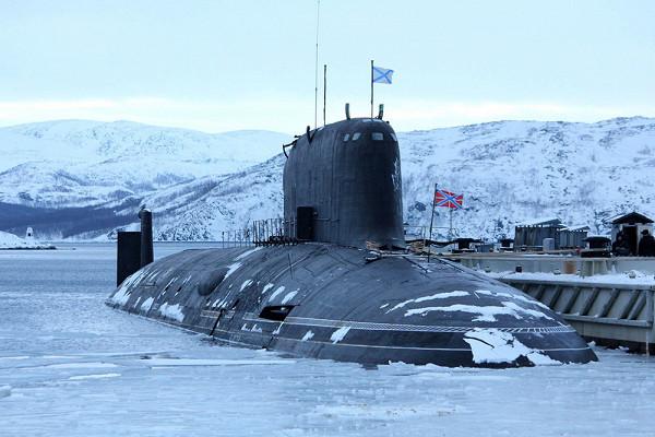 Центральный пост атомной подлодки «Казань» показали навидео