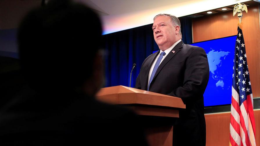 CNN: дипломаты просят Помпео осудить Трампа за беспорядки в Капитолии