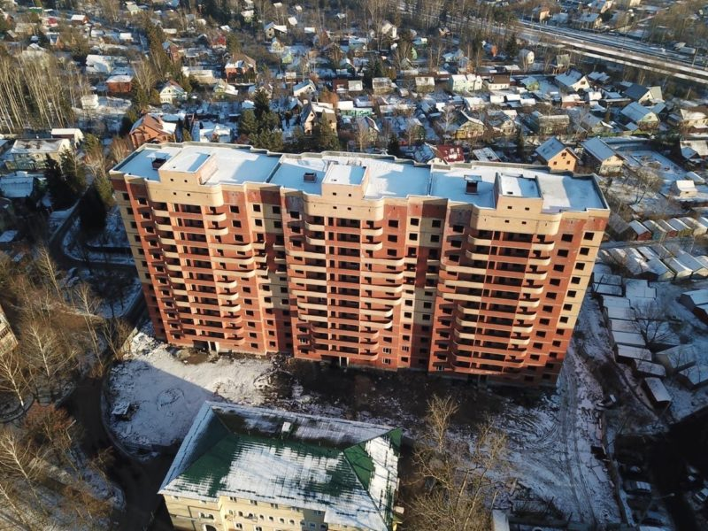 Заключен договор на обследование конструкций проблемного жилого объекта в поселении Кокошкино