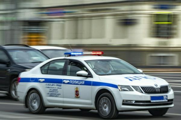 Капот всмятку: иномарка безномеров влетела вздание вПетербурге