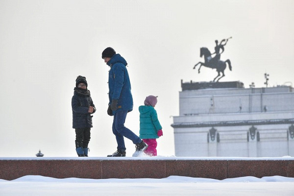 Синоптики сообщили опогоде вМоскве 31января