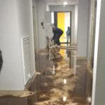 В Екатеринбурге затопило новостройку