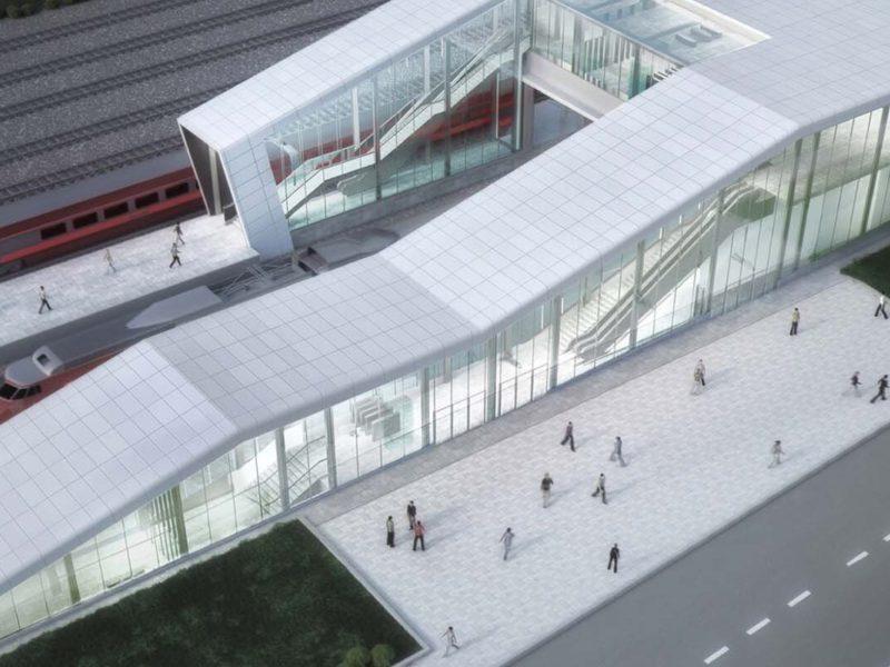 Собянин: В Москве впервые за 100 лет строится вокзал для поездов дальнего следования