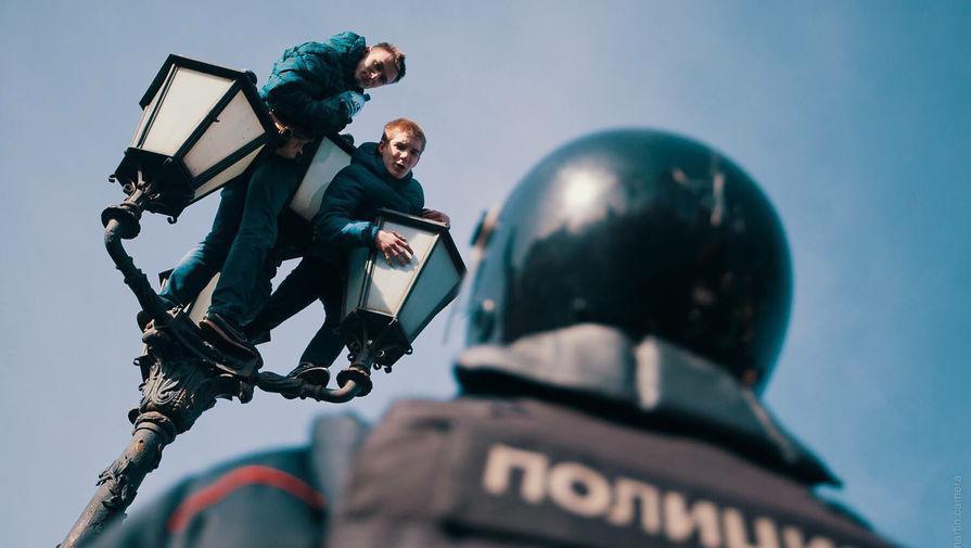 Более 30 детей задержали на незаконных акциях 2 февраля в Москве