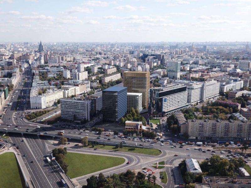 Строительство офисного квартала Stone Towers у станции метро «Белорусская» позволит создать около 11 тысяч рабочих мест