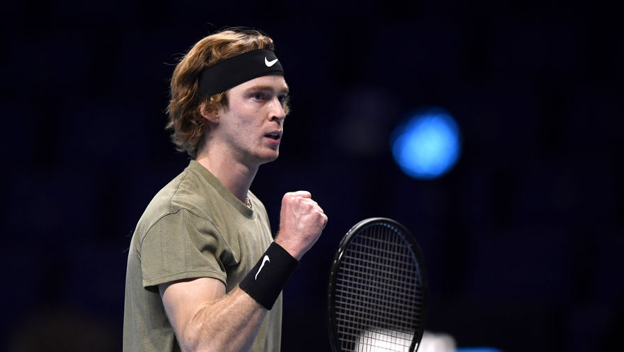 Российский теннисист Рублев обыграл Штруффа в полуфинале ATP Cup