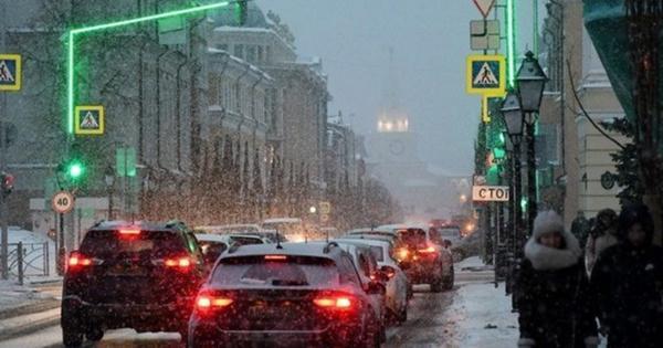 Утренние пробки вКазани снова достигли 8баллов
