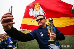 Челябинские VIP во главе с Текслером обыграли сенаторов в футбол. Фото