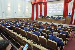 Коллегия свердловской прокуратуры проходит в уникальном составе. Фото