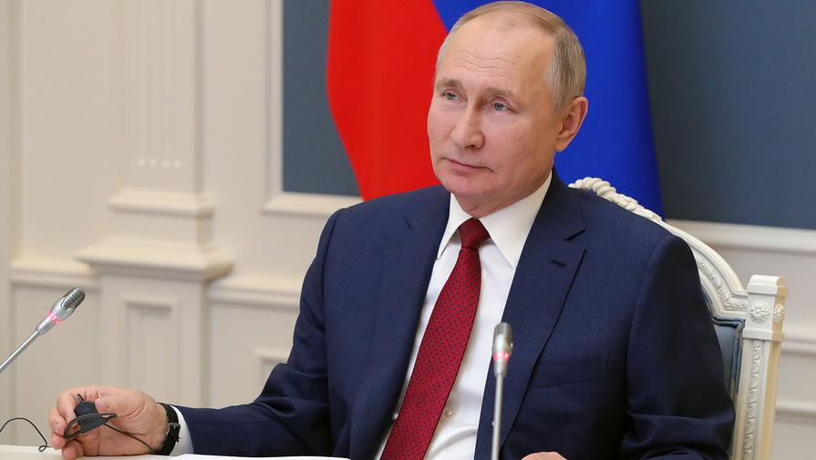 Путин поздравил крымчан с годовщиной воссоединения Крыма с Россией